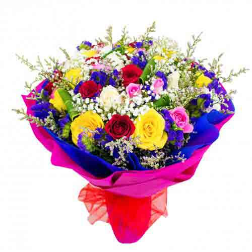 Rich Colorful Floral Delight<br/>