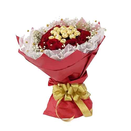 Tempting Chocolate Celebration Bouquet